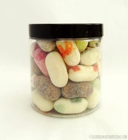 Pot de berlingots givrés aux arômes traditionnels