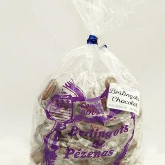Sachet berlingots chocolat 350g vu de face