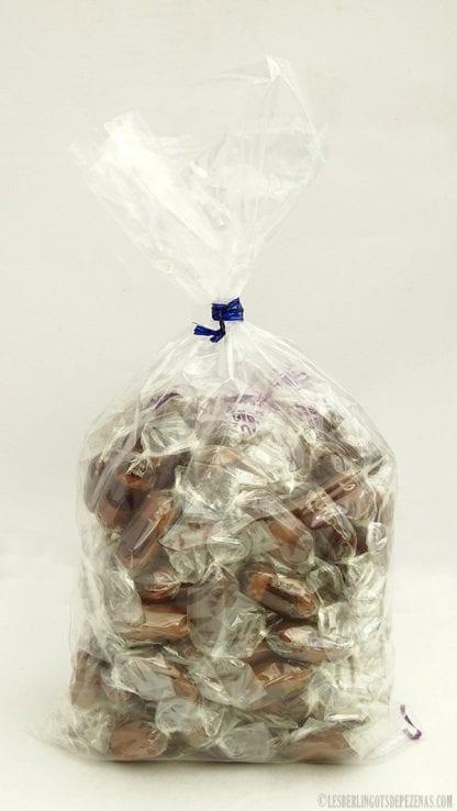 Sachet berlingots chocolat 350g vu de dos