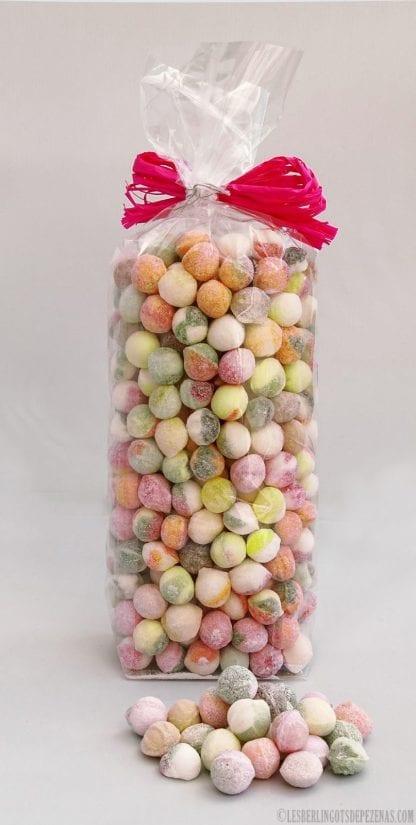 Sachet perles assorties 500g vu de dos