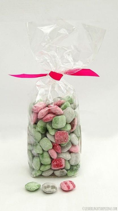 Sachet ca pikk vu de dos avec bonbons devant