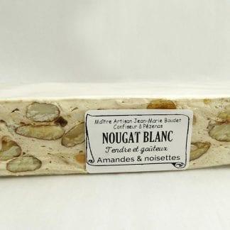 Barre nougat blanc 100g