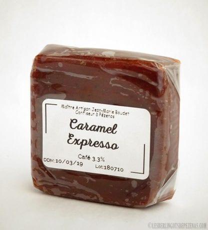 Caramel expresso vu de coté