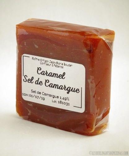 Caramel au sel de camargue vu de coté