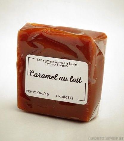 Caramel au lait - nature vu de coté