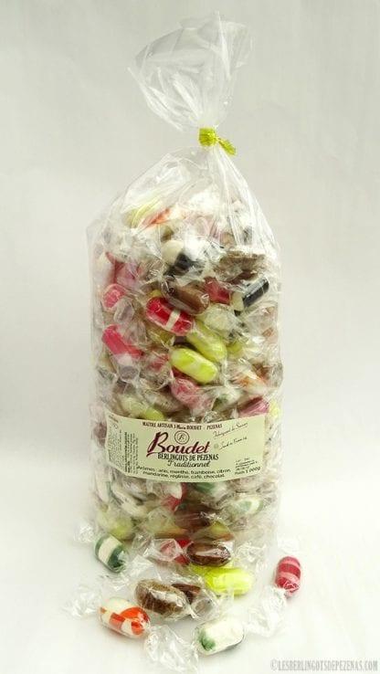Arômes traditionnels 1kg avec poignée de bonbon devant