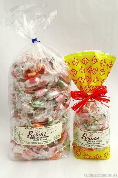 Arômes fruits du midi 1kg avec sachet 210g