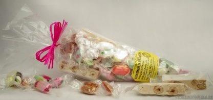 Sachet gourmand 270g avec bonbons devant