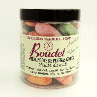 Pot berlingots ovales arômes fruits du midi