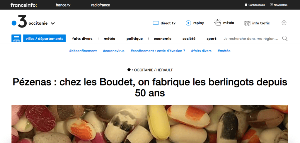 Reportage France3 régionale
