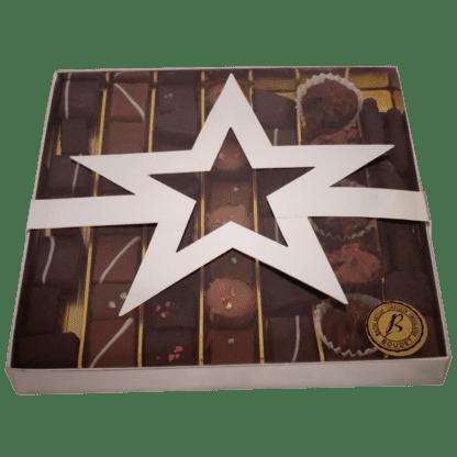 Boite étoile java assortiment de chocolat