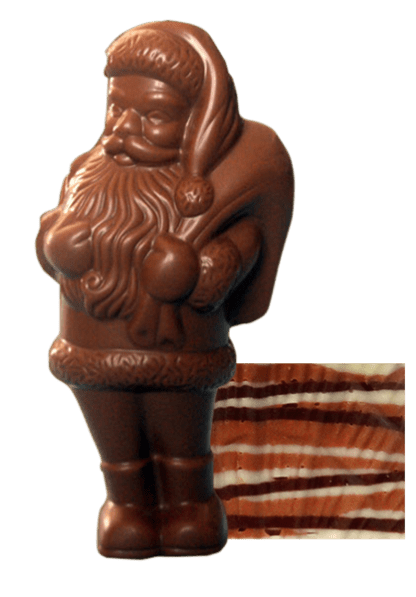 Pere Noel en chocolat