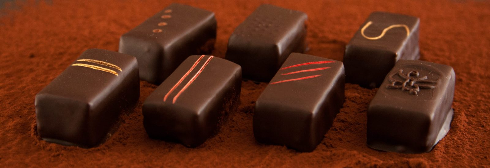 Groupe de chocolats